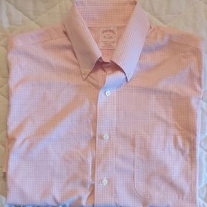 Men's Brooks Brothers Short Sleeve Dress Shirt